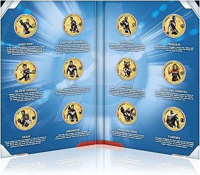 IMPACTO COLECCIONABLES Marvel Los Vengadores Endgame - Collector Pack: Amazon.es: Juguetes y juegos
