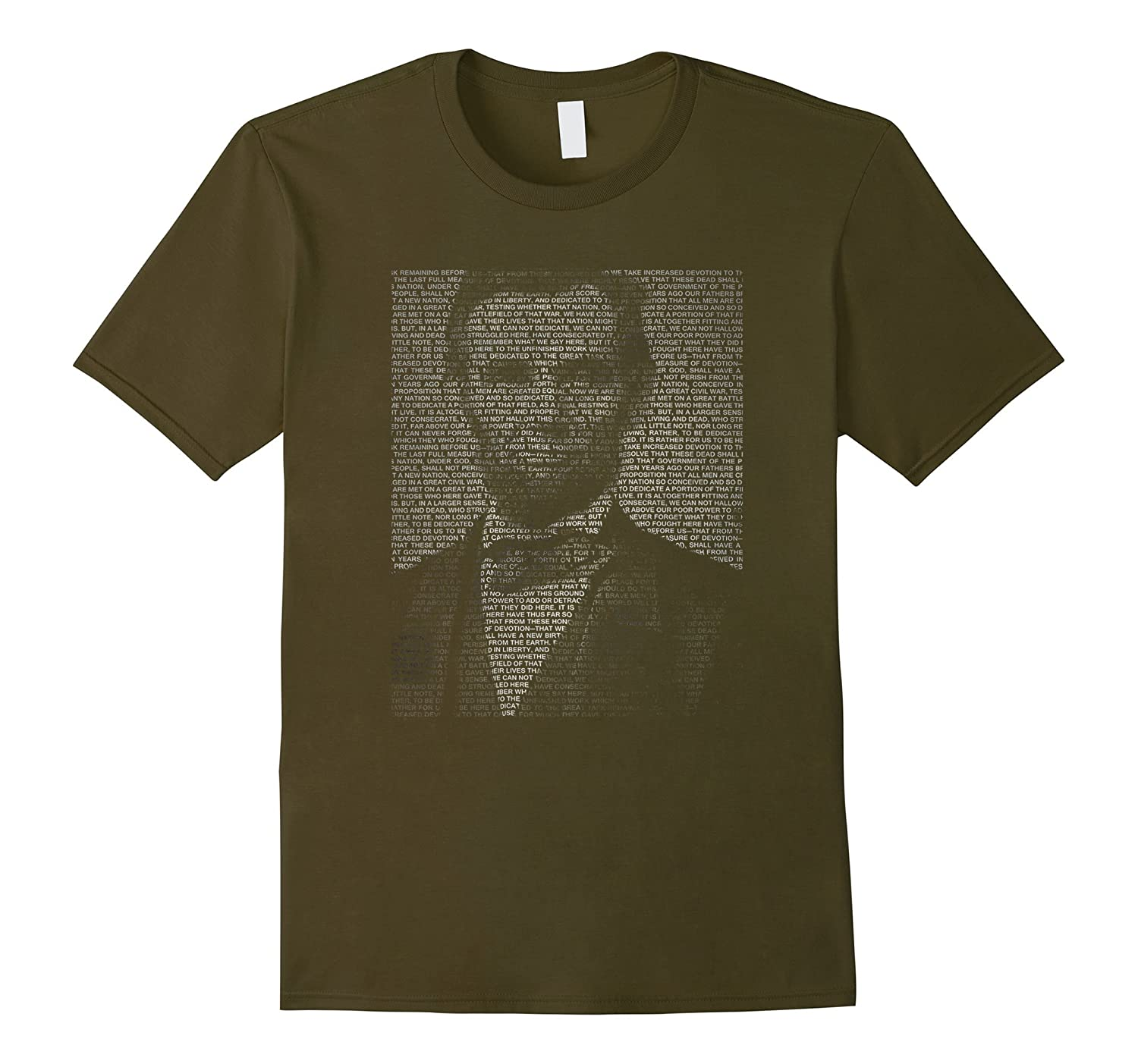 Abraham Lincoln and the Gettysburg Address Shirt-RT