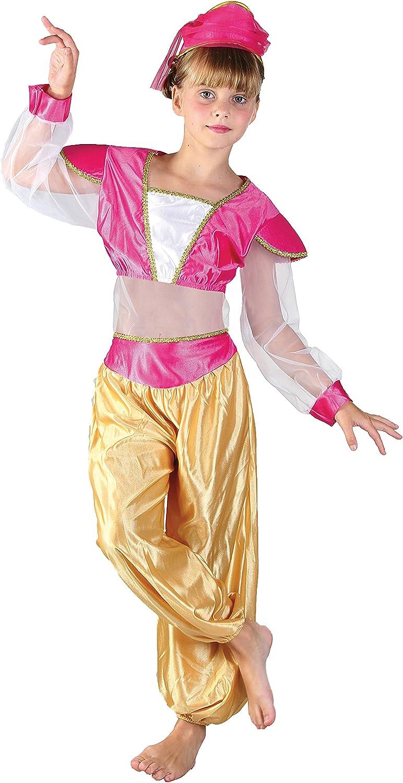 FIORI PAOLO – Disfraz de niña Princesa árabe Jasmine M (5-7 anni ...