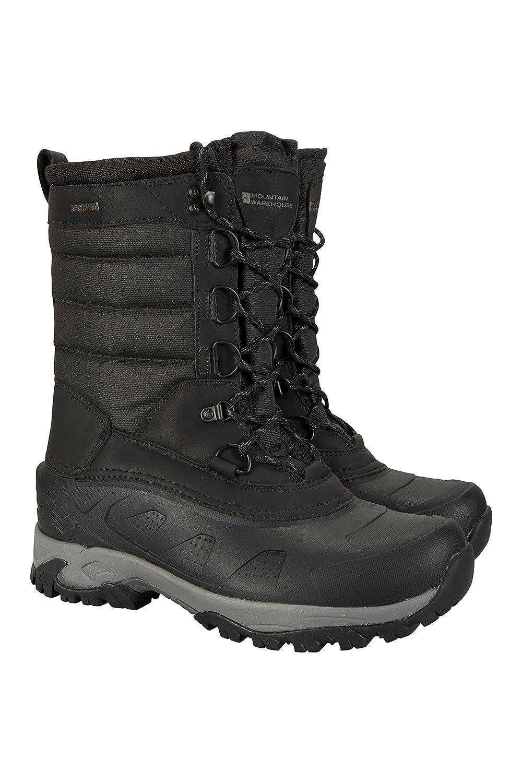 Kootk Schuhe Herren Winter Stiefel Sneaker Gefüttert