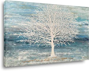 Yihui Arts Abstract Landscape Canvas Art Modern Paintings for Wall Decor Nature Trees Print Artwork