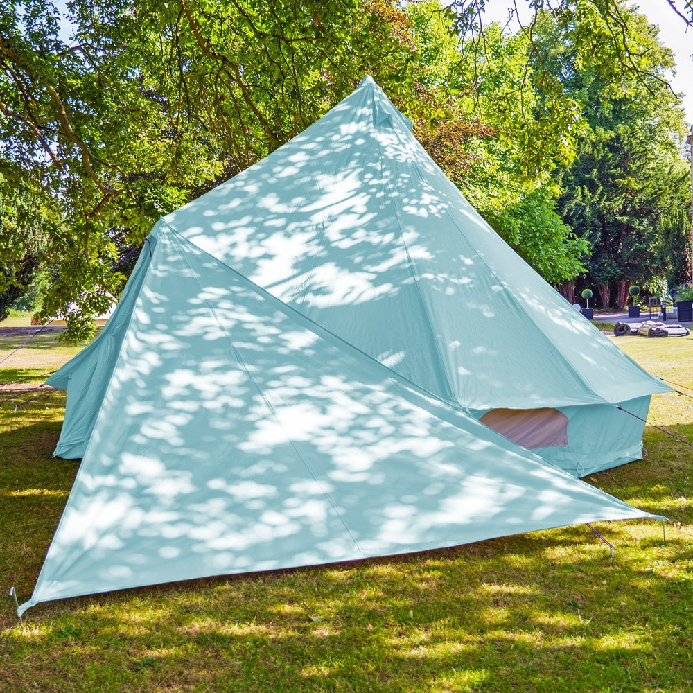 Boutique Camping Bell Zelt Triangle Plane – Sky Blau