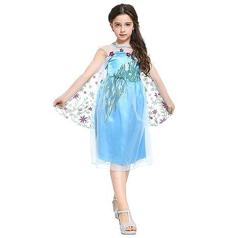 Katara - Il Vestito Floreale della Principessa Elsa Frozen 8154623a29e