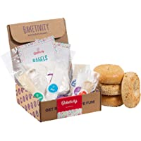 BAKETIVITY Kids Baking DIY Activity Kit - Bake Delicious Bagels with Pre-Measured Ingredients – Best Gift Idea for Boys and Girls Ages 6-12