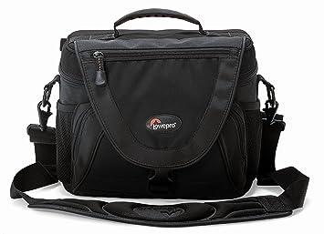 Amazon.com: Lowepro Nova Bolsa de la cámara Negro: Camera ...