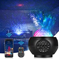 Star Projector, Star Night Light Projector for Bedroom with Bluetooth Speaker & Remote Control, Starlight Projector for…