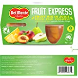 Del Monte Fruit Mix In Juice, 4 x 113 gm