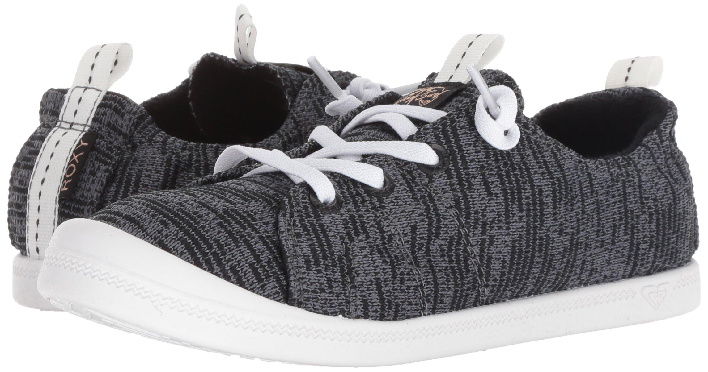 Roxy Women's Bayshore Sport Slip on Shoe Fashion Sneaker, Black, 8.5 M US by Roxy (Image #5)