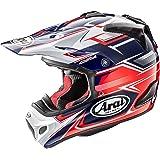 アライ(ARAI) バイクヘルメット フルフェイス V-CROSS4 SLY (V-クロス4 スライ) 赤/ネイビー 57cm~58cm V-CROSS4