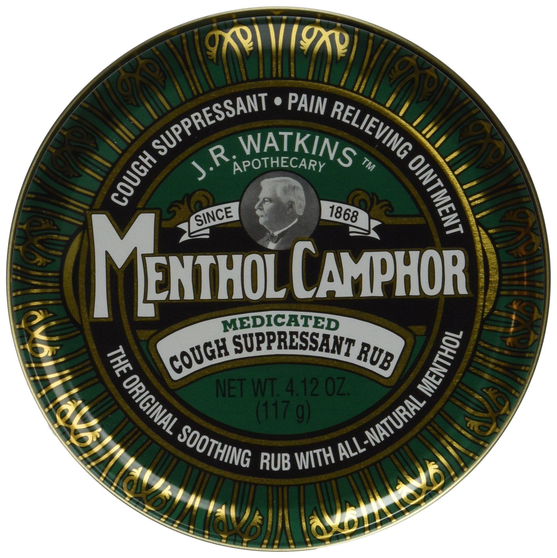 JR Watkins Original Menthol Camphor Cough Ointment/Rub 4.1 oz by J.R. Watkins