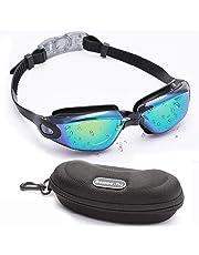 Gafas de natación anti niebla UV Gafas Natación Protección Impermeable proteger para adultos