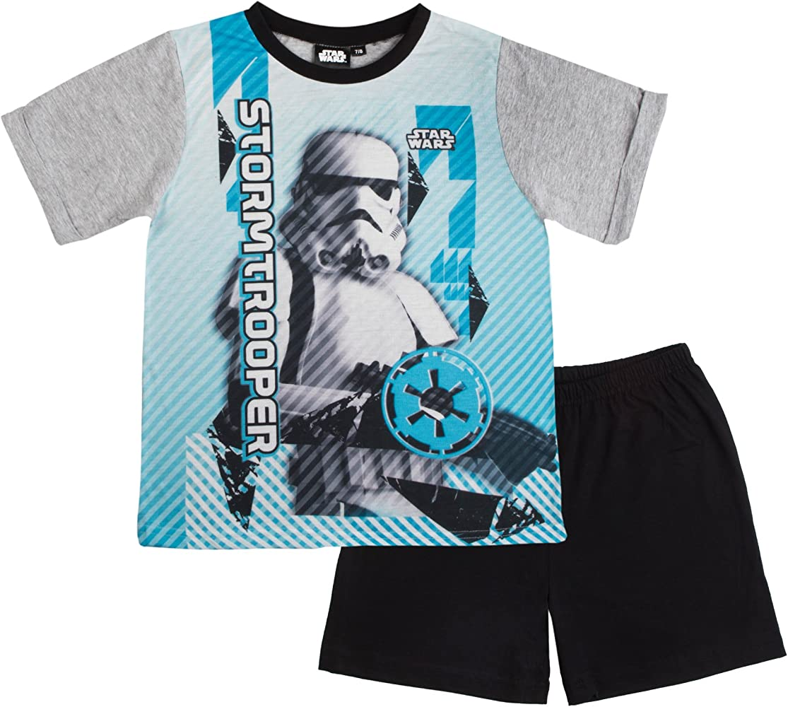 9-10 DARTH VADER boys Kids DISNEY STAR WARS LONG COTTON PYJAMAS PJ/'S AGE 5-6