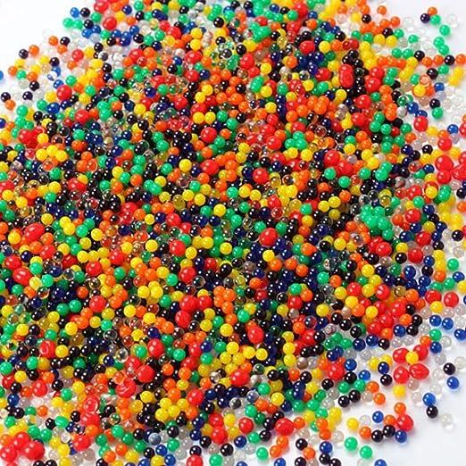 Amazon UMFun Pearl Soil Water Beads Gel Ball For Flower Mud Impressive Pearl Balls Decoration