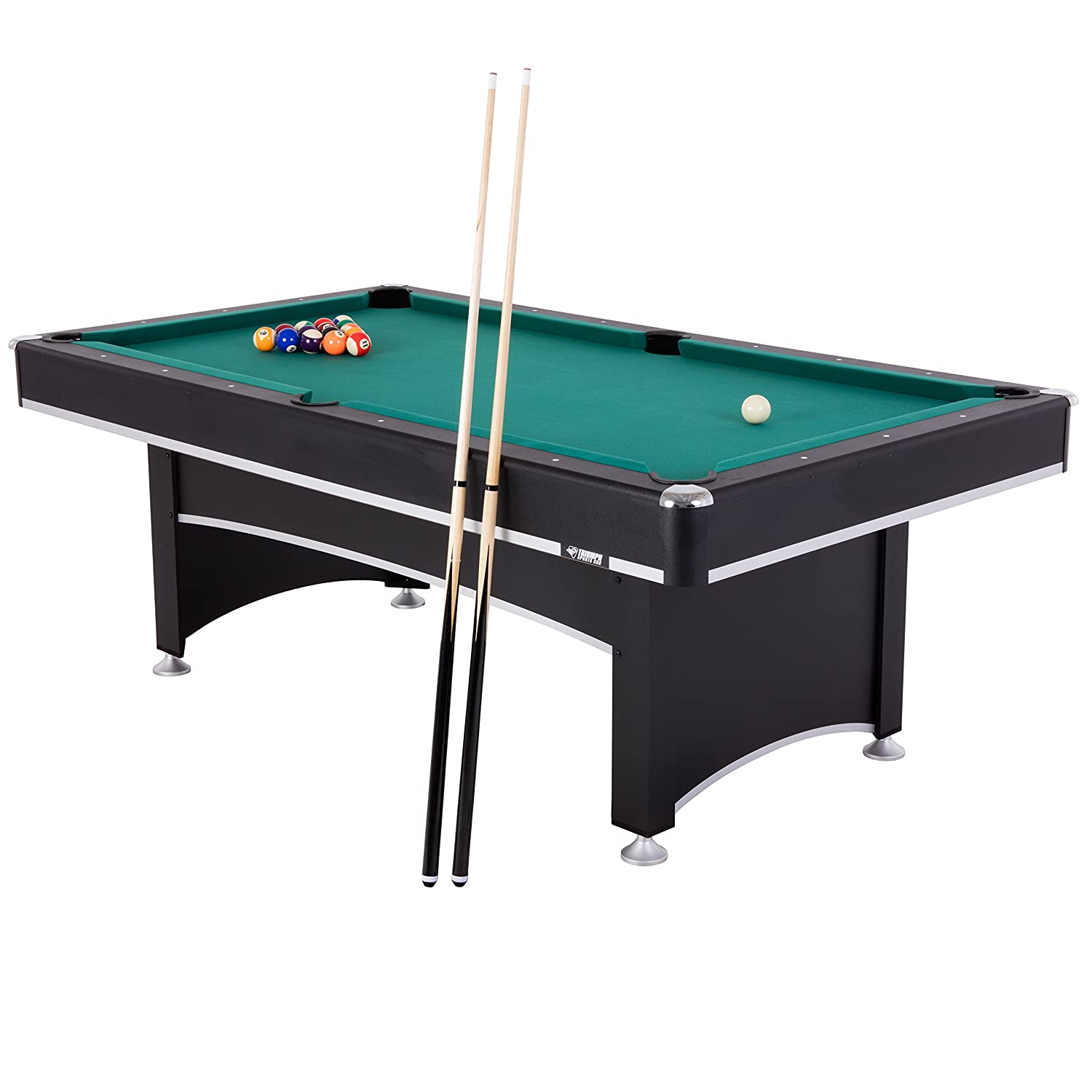 Amazon.com : Triumph Sports Phoenix 7' Billiard Table with Table ...