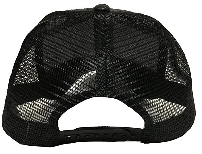 Michoacan Sentenario hat Gorra De Palma Visera De Piel Mesh Snapback at Amazon Mens Clothing store: