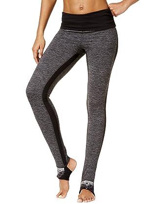 6e46d88e75 Amazon.com: Gaiam Avalon Women's Foldover Leggings (Charcoal Heather ...