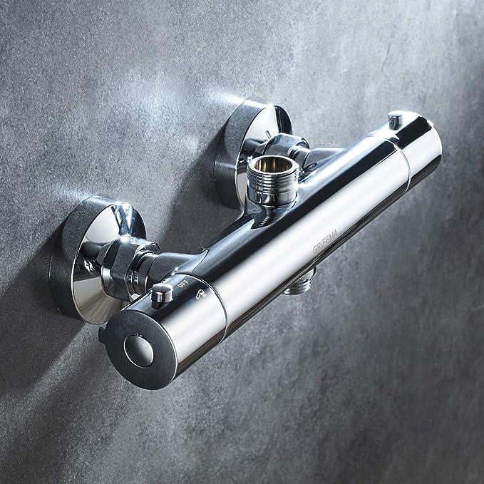 GRIFEMA Berlin - Termostato para columna de ducha, grifo de ...