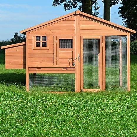 ZooPrimus - Gallinero para exteriores (adecuado para animales ...