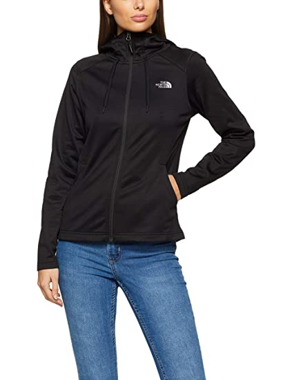 60eb8002b The North Face Women's Tech Mezzaluna Hoodie TNF Black Small