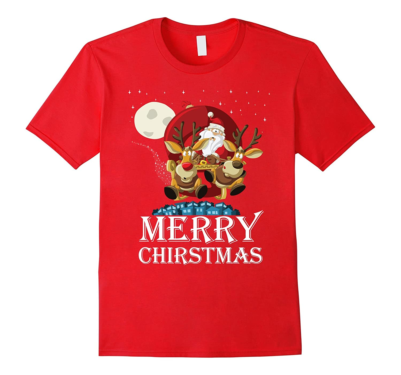 Christmas T-shirt Merry christmas-Perfect gift for Holiday-Art