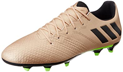 huge selection of 6914a 97802 adidas Messi 16.3 FG – Chaussures de Football Messi Ligne pour Homme,  Bronze – (