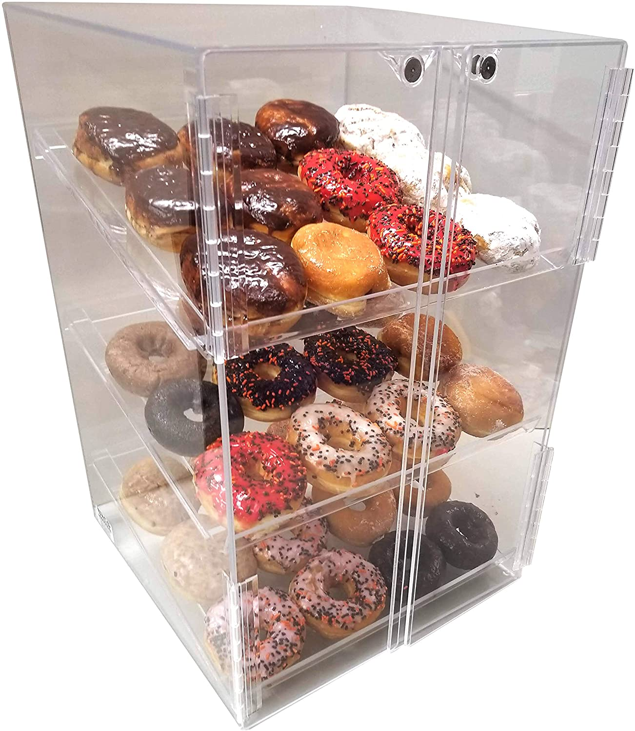 Self Serve Pastry Or Donut Display Case 3 Trays For Deli Bakery Convenience Stores Display It And Keeps Fresh Commercial Display Products Kitchen Dining