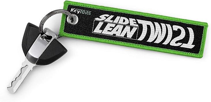 Premium Quality Key Tag for Motorcycle KEYTAILS Keychains ATV Scooter UTV Slide Lean Twist