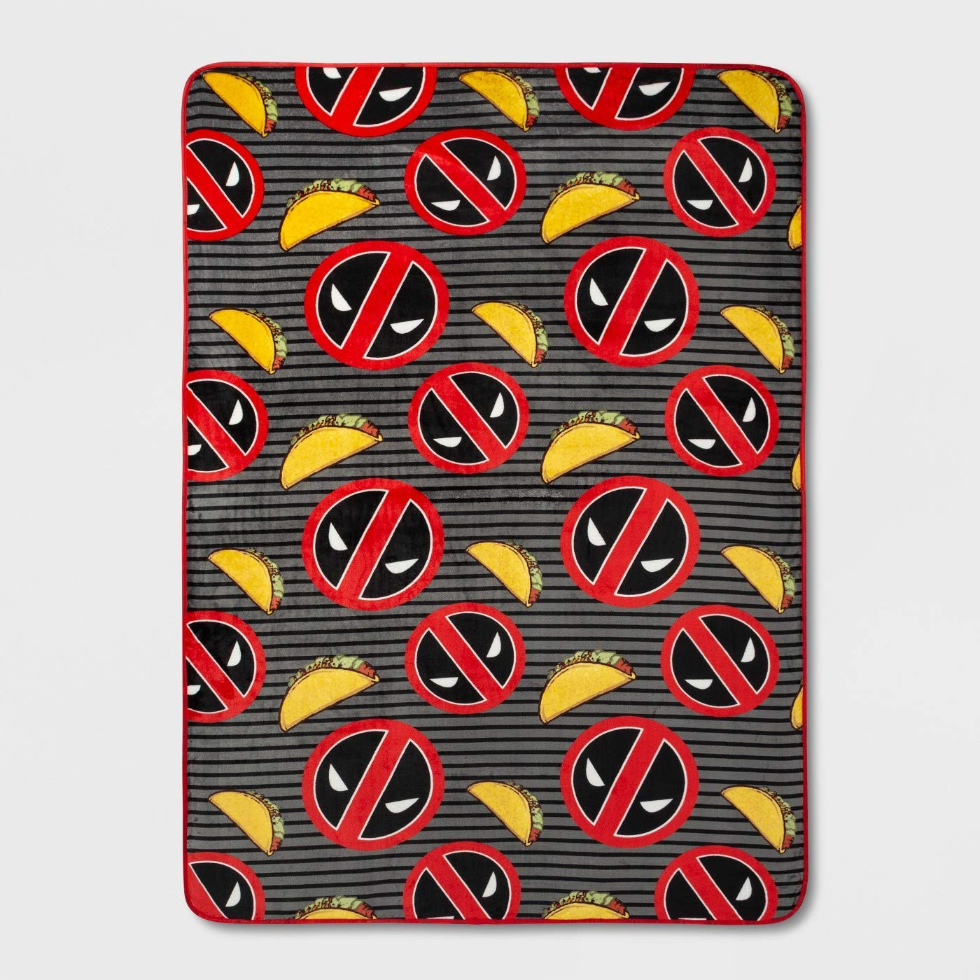 Franco Marvel Deadpool Twin Blanket 62 x 90 Inches