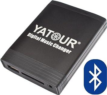 Bluetooth USB SD MP3 AUX In CD Wechsler Adapter für Renault Original Radio 2009