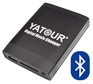 Yatour - Adaptador y manos libres Bluetooth para radios de coche RD4, RT3 (Software desde 6.x), RT4 Radio citroen ...