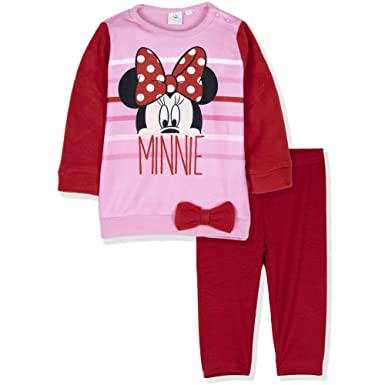 726cd4f36cd2 Disney Minnie Mouse Baby Girls Clothing Outfit Clothes Set Leggings ...