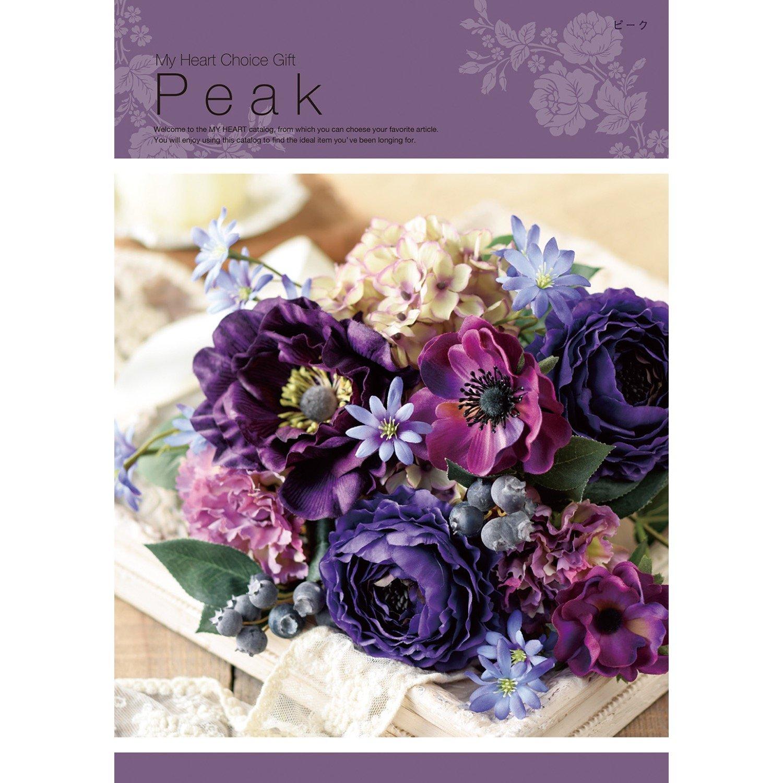 LOIRE カタログギフト MY HEART (マイハート) Peak ピーク 20,000円コース 包装紙:バラ B07FPHFPPL 包装紙:バラ 包装紙:バラ
