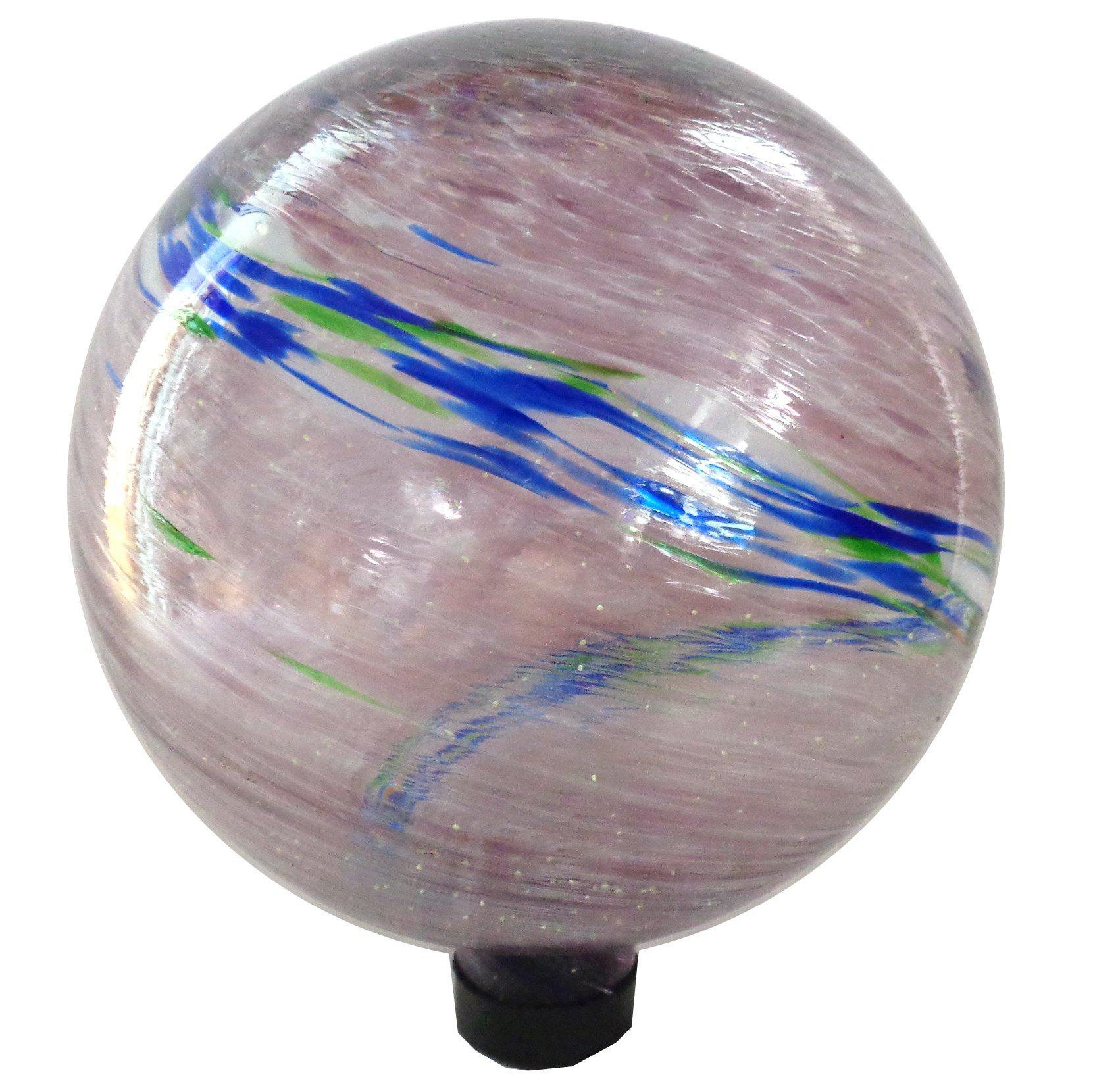 Gardener Select 16BFG02 Purple Glow N Dark Globe, 10''