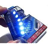 Aketek HotAuto Solar Charger Car Burglar Alarm Warning LED light Car Sensor Security