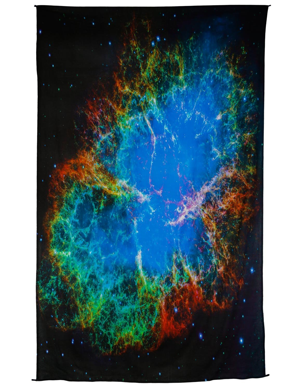 Zest For Life Outerspace Digital Print Tapestry Tablecloth Beach Sheet Wall Art Huge 53X88 Inches