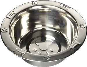 QT Embossed Rim Dog Bowl Dog