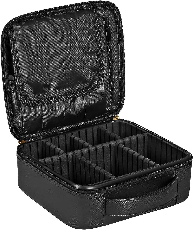 KSIBNW Trousse de Maquillage Portable 3 en 1 Trousse de Toilette de Voyage Transparente en PVC Imperm/éable avec Pochette de Transport Zipp/ée /étui pour Organisateur de Maquillage Cosm/étique pour Femme