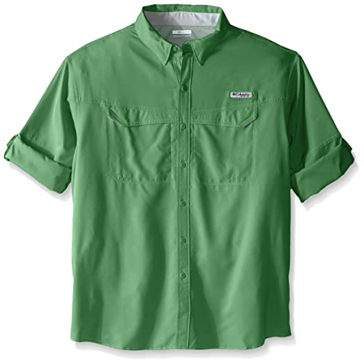 2254f5b4dd6 Columbia Men's Low Drag Offshore Big & Tall Long Sleeve Shirt, Emerald  City, Large