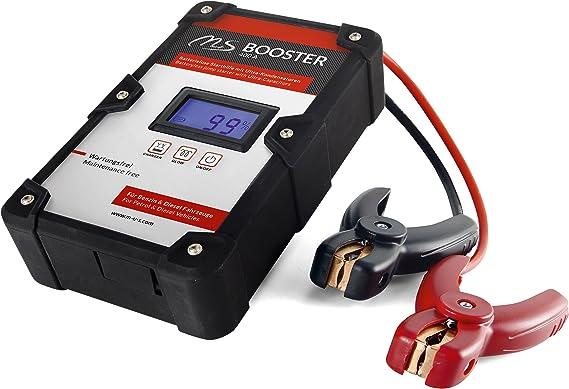 M S Batterieloses Starthilfegerät 400a Batterie Booster Mit Ultra Kondensatoren Für über 10 000 Startvorgänge Mobile Motorrad Und Auto Starthilfe Für Diesel Und Benzin Motoren 100 Zuverlässig Auto