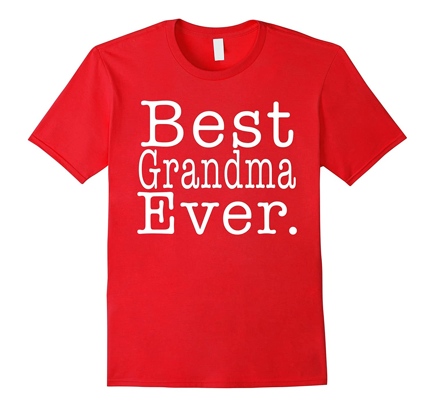 Womens Best Grandma Ever T-shirt - Premium Quality-Art