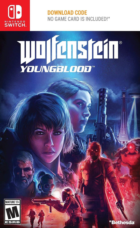 Wolfenstein Wedding Ring.Amazon Com Wolfenstein Youngblood Nintendo Switch Standard