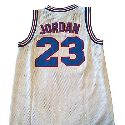 CoreSpot Men's 23 Space Jam Basketball Jersey S-XXXL White