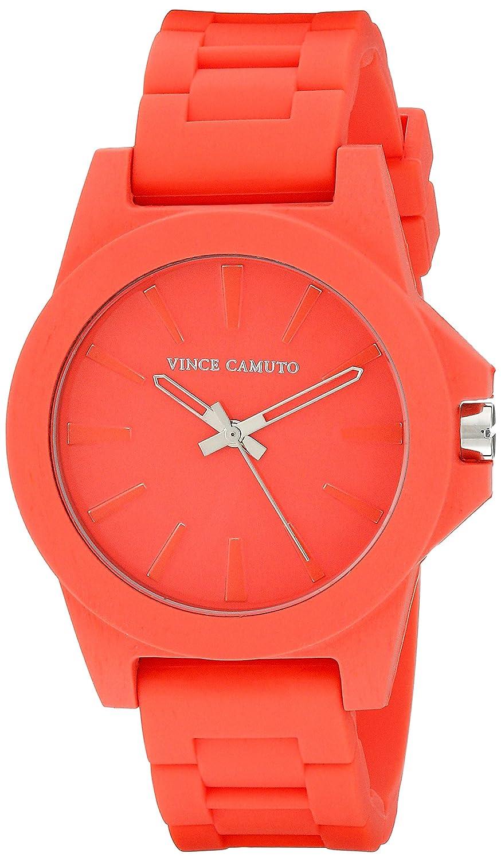 Vince Camuto Damen-Armbanduhr Analog Quarz Rot VC-5247COCO
