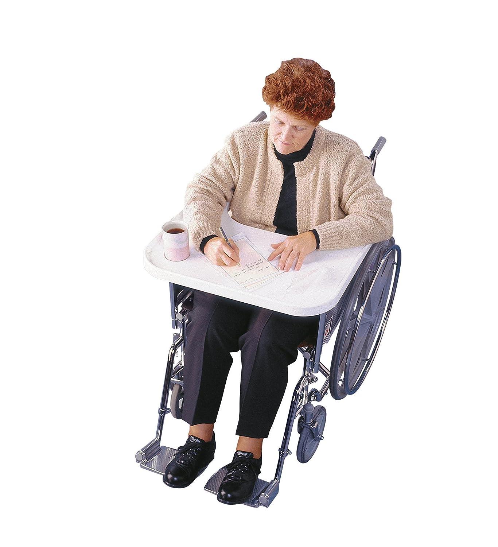 Rolyan Tavolino sagomato per sedia a rotelle Amazon Salute e cura della persona