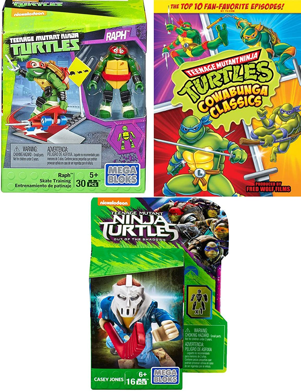 Amazon.com: Teenage Mutant Ninja Turtles: 10 Episode Cartoon ...