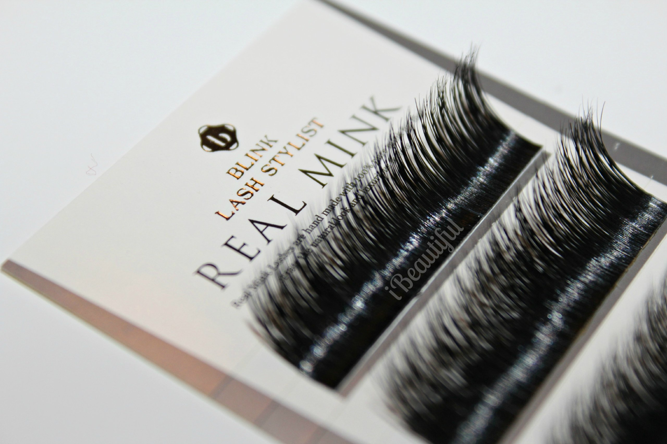 Amazon Blink 100 Real Mink Fur Lashes C Curl 15mm For Eyelash