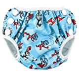 Bumkins Reusable Swim Diaper, Cat in the
