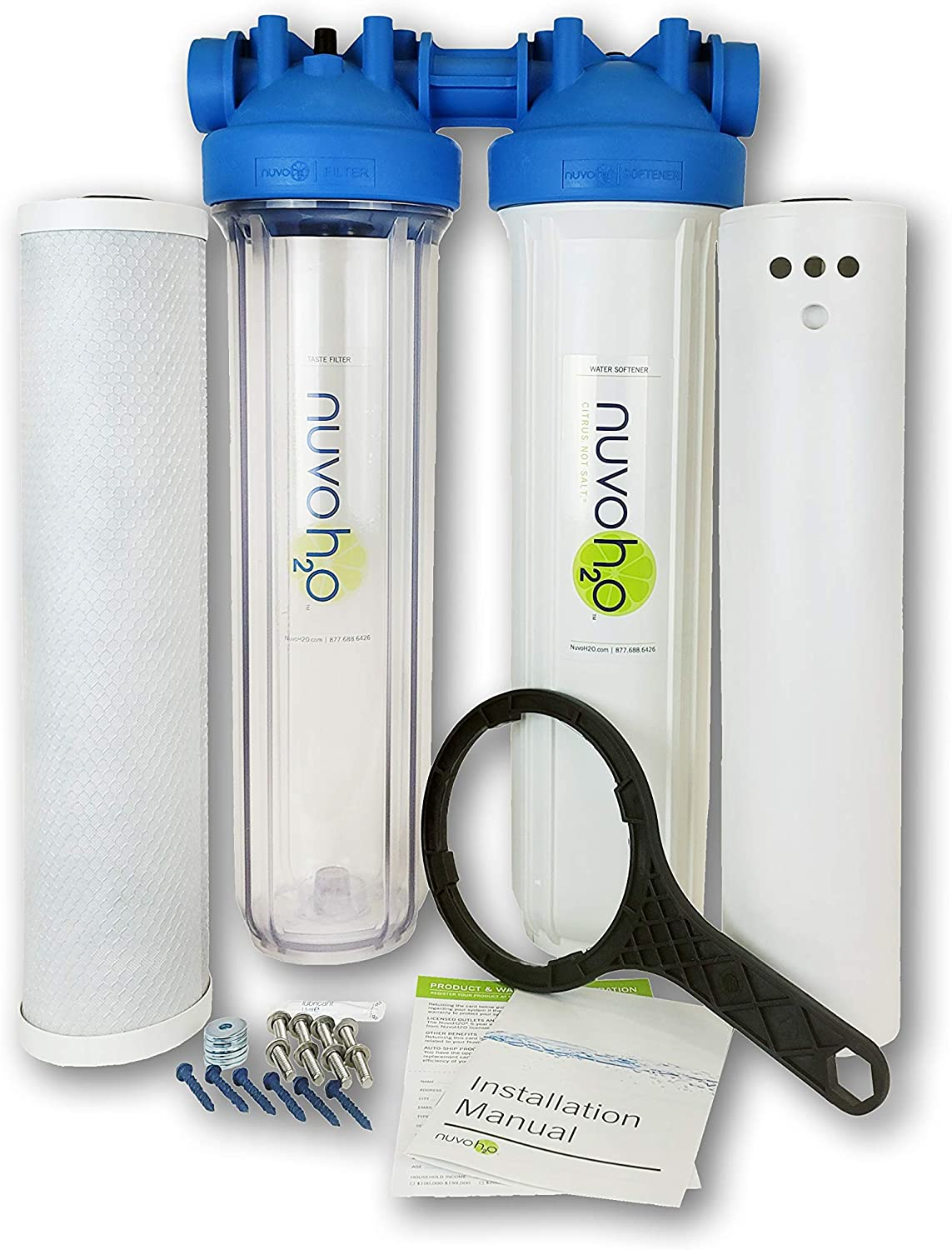 NUVOH2O Manor Duo - Water Softener + Taste System