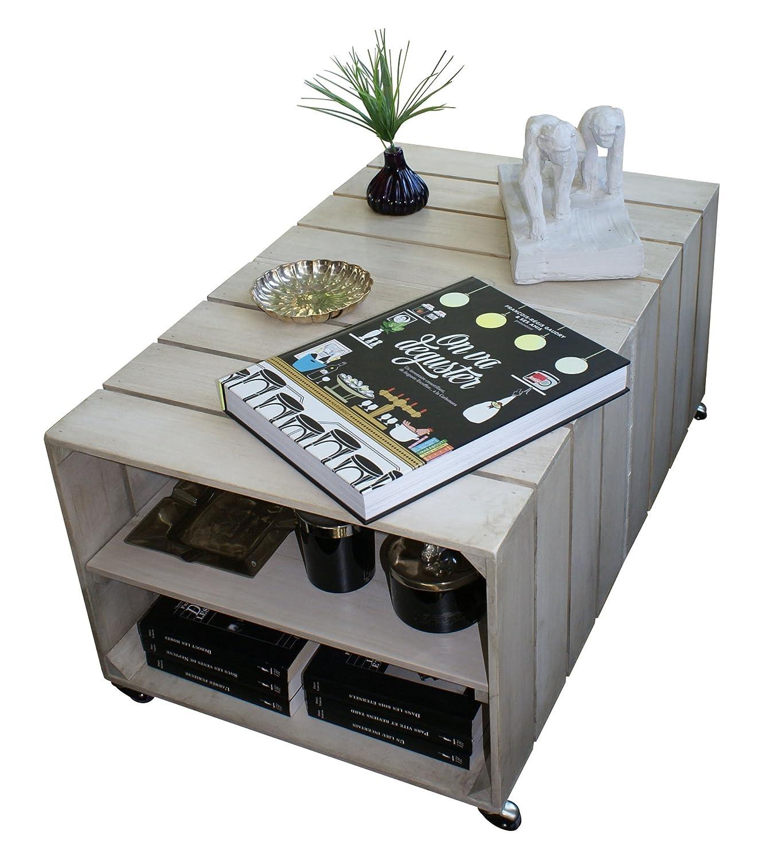 Luxus table basse caisse vin id es de conception de table basse - Table basse caisse en bois ...