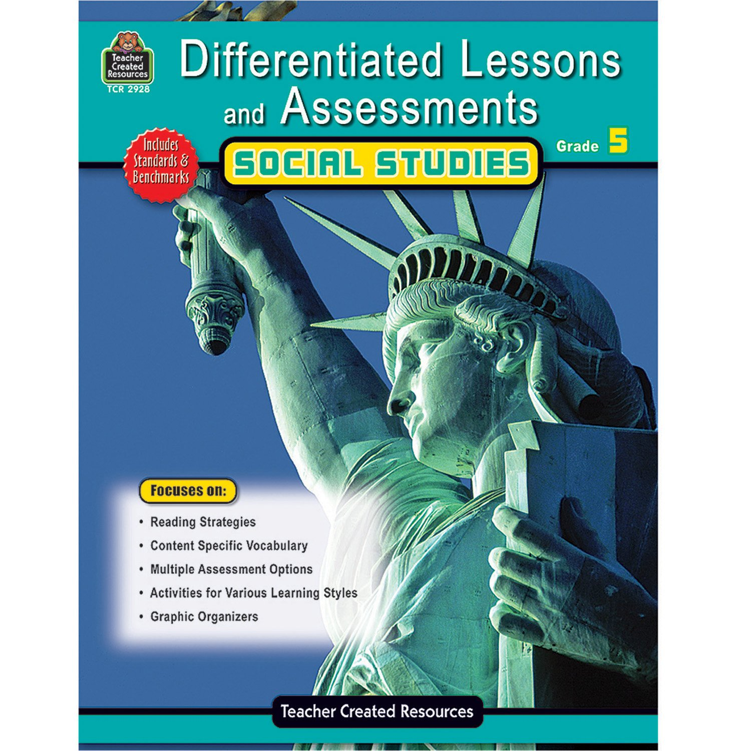 Amazon.com: Differentiated Lessons & Assessments: Social Studies Grd 5  (9781420629286): Julia Mcmeans: Books